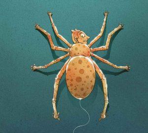 illustration d'une araignée